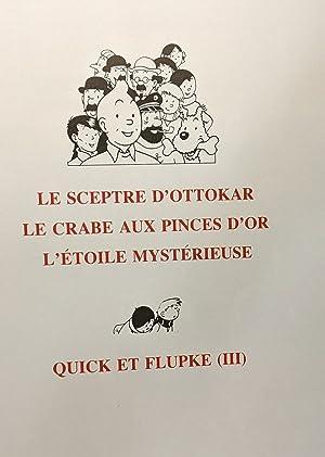 L'oeuvre intégrale de Hergé: Le sceptre d'Ottokar: Hergé Peeters Benoît