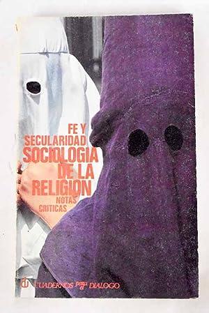 Sociologia de la religión: notas críticas