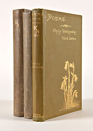 POEMS by Emily Dickinson. [with:] .SECOND SERIES. [with:] .THIRD SERIES