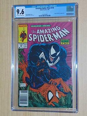 Amazing Spider-Man #316. CGC NM+ 9.6. Off-White: McFarlane, Todd