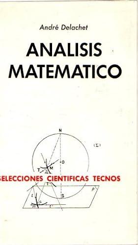 El análisis matemático .: Delachet, André