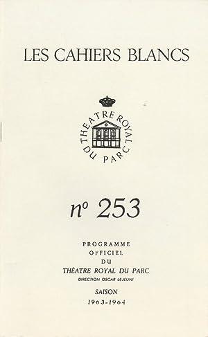 Programmheft Andre Roussin NINA 11. bis 31.: Theatre Royal du