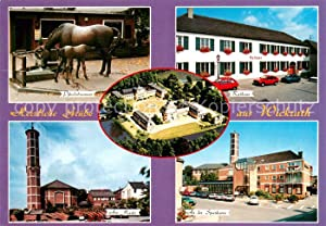 Postkarte Carte Postale 73672391 Wickrath Moenchengladbach Pferdebrunnen