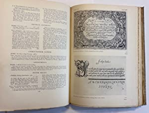 The English Writing-Masters and Their Copy-Books, 1570-1800. A Biographical Dictionary & A Biblio...