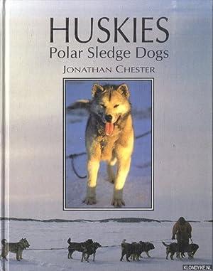 Huskies. Polar Sledge Dogs: Chester, Jonathan