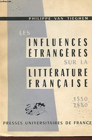 Influences étrangères sur la littérature française: Van Tieghem Philippe