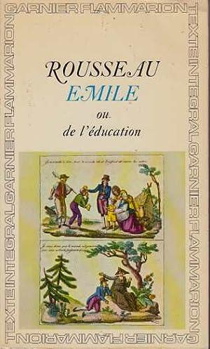 Image du vendeur pour Emile ou de l'education mis en vente par davidlong68
