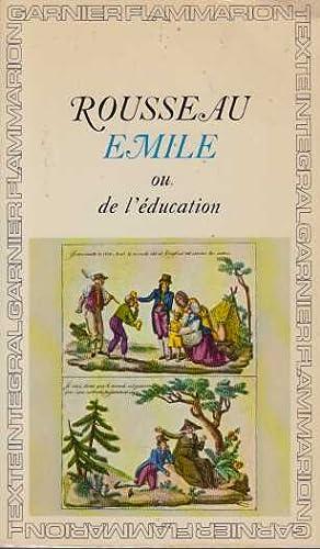 Image du vendeur pour Emile ou l'education mis en vente par davidlong68