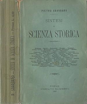 SINTESI DI SCIENZA STORICA: PIETRO SBARBARO