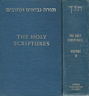 THE HOLY SCRIPTURES According to the masoretic: AA.VV.