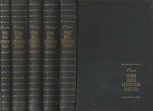 Storia della letteratura italiana (5 Voll.): Francesco Flora