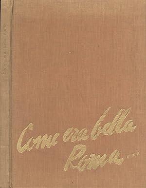 Immagine del venditore per Come era bella Roma venduto da Biblioteca di Babele