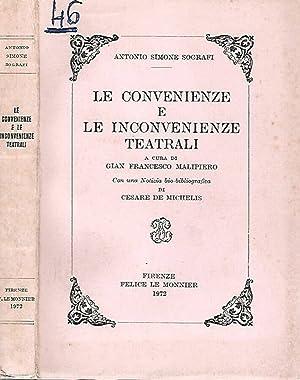 Le convenienze e le inconvenienze teatrali: Antonio Simone Sografi