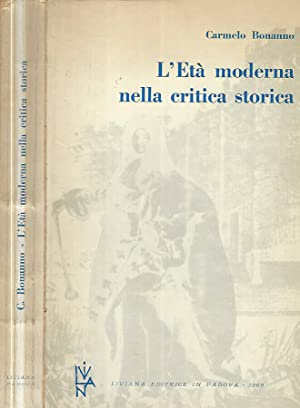 L'Età moderna nella critica storica: Carmelo Bonanno