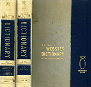The new Webster encyclopedic dictionary of the: Virginia S.Thatcher, Alexander