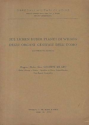 Sul Lichen Ruber Planus di Wilson degli: Maggiore Medico Dott.