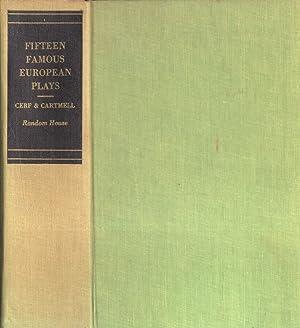 Fifteen famous european plays: Bennett Cerf -