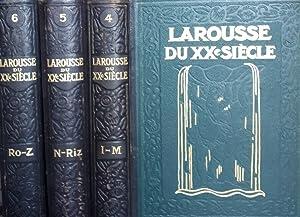 Larousse du XX siècle en six volumes.: Paul Augé