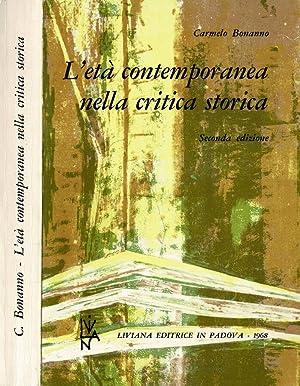 L'età contemporanea nella critica storica: Carmelo Bonanno