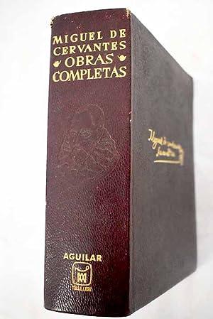 Obras completas: Cervantes