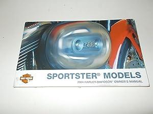 Sportster Models : 2004 Harley-Davidson Owner's Manual: Harley-Davidson Motor Company