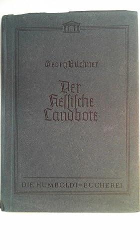 Der Hessische Landbote.: Büchner, Georg: