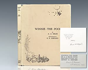 Winnie-the-Pooh. With Decorations by Ernest H. Shepard.: Milne, A.A.; Decorations