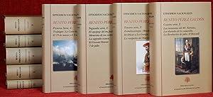 Episodios nacionales [10 vols.].: PÉREZ GALDÓS, Benito.-