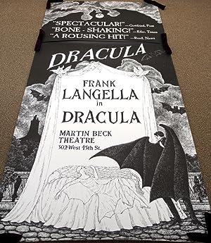 Original three-sheet poster for Dracula