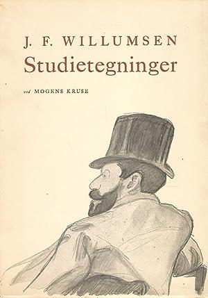 J. F. Willumsen. Studietegninger.: Kruse, Mogens: