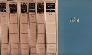 Bild des Verkäufers für Sämtliche Werke. (Kleine Stuttgarter Hölderlin-Ausgabe. Reprographischer Nachdruck, Bde. 1-5 als Sonderausgabe für die Wissenschaftliche Buchgesellschaft). 6 Bde. (= komplett). zum Verkauf von Antiquariat Reinhold Pabel