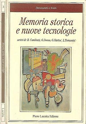Memoria storica e nuove tecnologie: AA.VV.