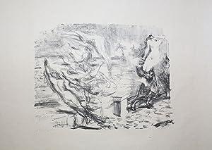 """Illustration zu """"Die Inseln Wak Wak. Eine: Slevogt, Max:"""