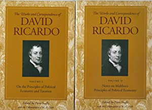 On the Principles of Political Economy and: Ricardo, David