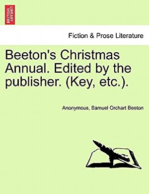 Beeton's Christmas Annual. Edited by the Publisher.: Anonymous