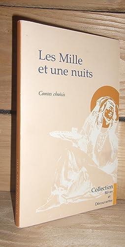 Image du vendeur pour LES MILLE ET UNE NUITS : Contes Choisis, Traduction d'Antoine Galland mis en vente par Planet'book