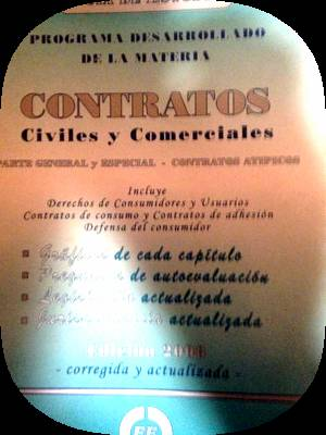 guia de estudio contratos civiles y comerciales