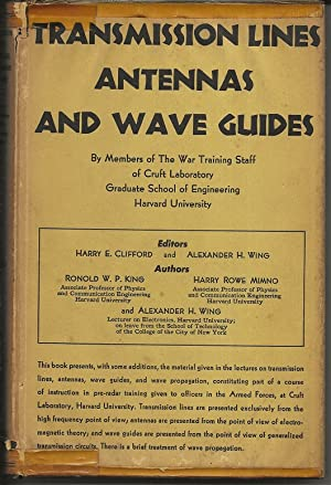 Transmission Lines Antennas And Wave Guides: King, Mimno, Wing