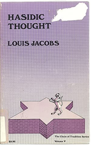 Hasidic Thoughts: Louis Jacobs
