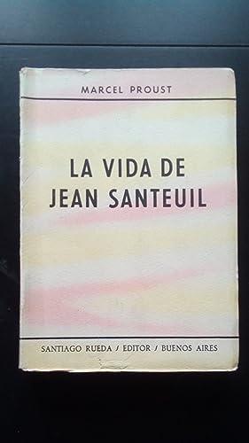 VIDA DE JEAN SANTEUIL, LA: Proust, Marcel