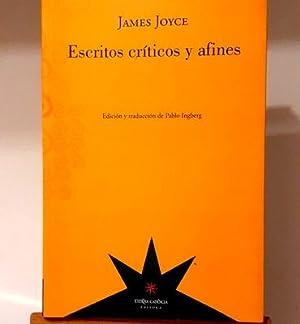 escritos criticos y afines james joyce eterna: James Joyce