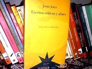 escritos criticos y afines james joyce -2016-: James Joyce