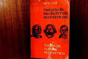 eric roll historia de las doctrinas economicas: Eric Roll