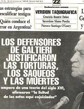 el diario del juicio n 22juicio a: PERFIL