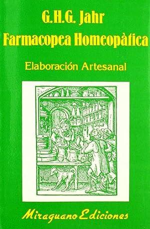 Farmacopea Homeopatica - G H G Jahr