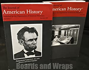The Journal of American History 2 volumes