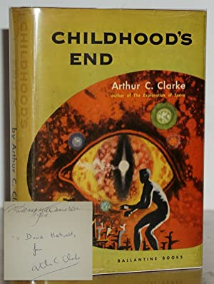 CHILDHOOD'S END (Signed & Inscribed to his Editor, David Hartwell)