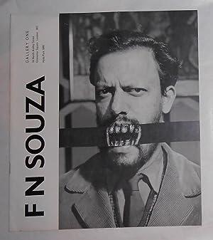 F N Souza (Gallery One, London November: SOUZA, F N
