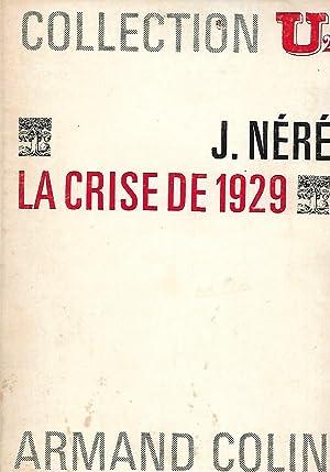 La crise de 1929: Néré Jacques (1917-2000)