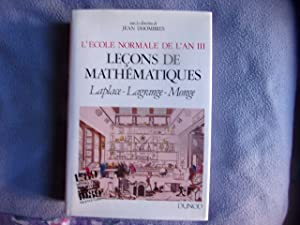 Leçons de mathématiques: Jean Dhombres
